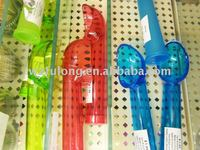 colorful ice cream plastic spoon