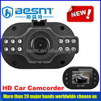 Besnt sd card wireless car camcorder auto recording video car camcorder online video chats as a webcam BS-CJ31