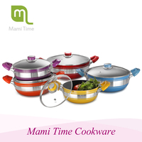 Hot sale buy as seen on tv decorative cookware set