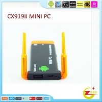 CX919II Android 4.4 Mini pc RK3188 Quad Core 2G RAM 8G ROM CX-919 II Built-in Bluetooth Dual External Antenna TV dongle