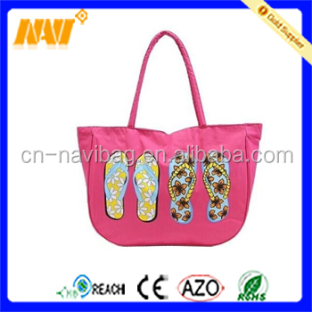 New casual portable women's handbag female beach bag