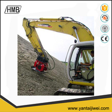 hydraulic excavator vibrating plate concrete compactor for sale