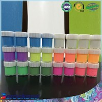 Environmental Safe Non-Toxic Washable acrylic color glow in the dark paint
