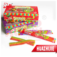 3 Colors Gummy Candy Rainbow Belt Sweets Confectionery Factory