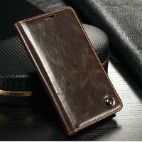 Caseme Alibaba new product original leather case for samsung galaxy s5 mini flip case