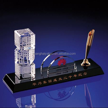 Perfect suit crystal pen container