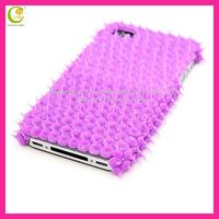 Embossed glue for iphone5 transparent case,beautiful super soft silicone hedgehog case cover for iphone