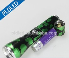 PLD Hot Sell Super Bright Focus Police Led Camouflage FlashLight