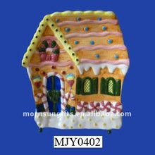 Christmas candy house gingerbread for Christmas decor