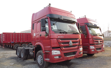 China high quality Sino truck howo tow truck with double sleepers made in China