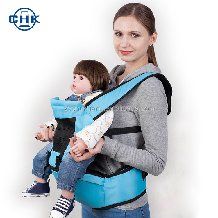 Convenient safety newborn adjustable cotton hip seat back support baby carrier sling wrap