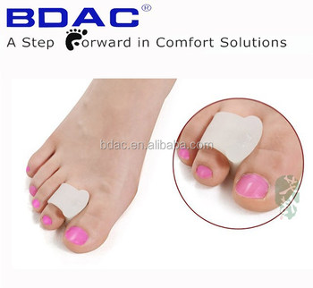 soft gel toe separator foot fingers support toe stretcher