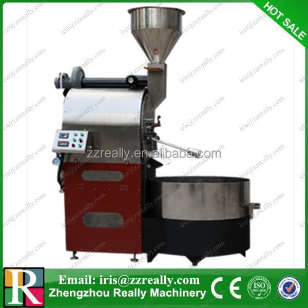 1-60kg commercial industrail coffee bean roasting machine