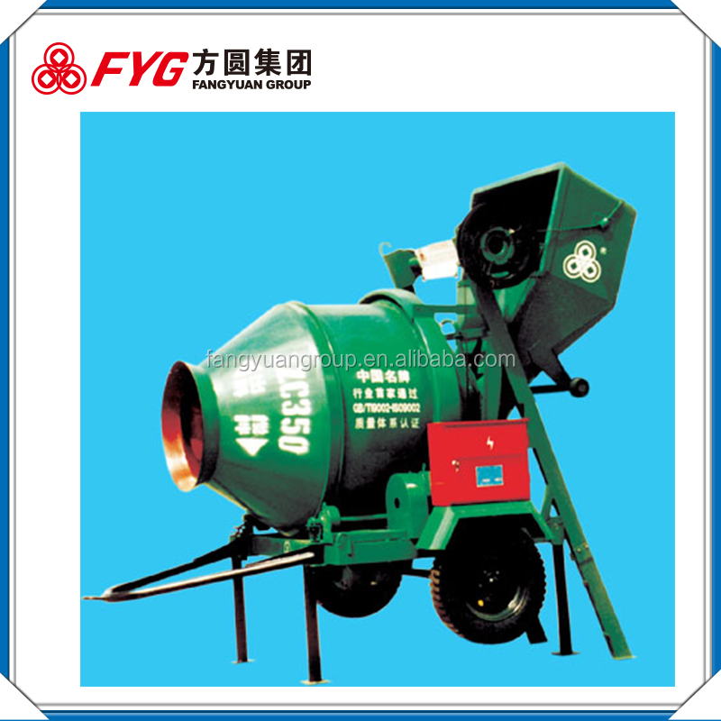Wholesale goods from china diagram of concrete cement mixer truck JZC350