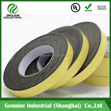 1mm 6mm Black Double Sided Foam Mounting Tape 19mm x 10m