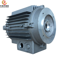 OEM mass production aluminum die casting parts motor housing cover