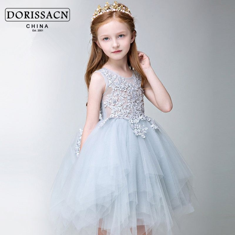 formal evening gowns smart party dress kids wear clothes wedding ...