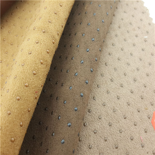 Hot suede lether fabric products