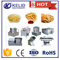 high quality chips snack machine new condition potato chips small frying machine