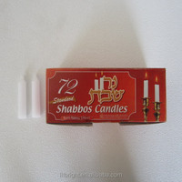Religious Candle, Shabbos Candle, 72pcs/Box, Walmart Vendor, 10 Years Experience of Candle Production