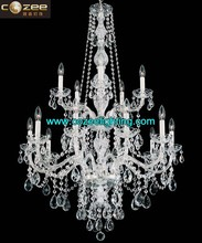 Modern Home Interior Decorator Bohemia Crystal Prisms Chandelier Cristal Lamps Hanging Light Chandeliers Lighting CZ3012/15