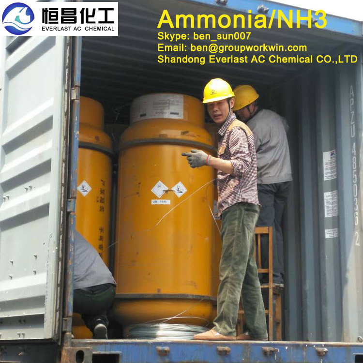 Weld Gas Cylinder 100/400/800 L for Ammonia/Chlorine from China