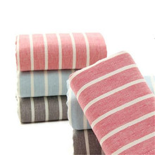 Wholesale Stripes Face Cotton Towel High Quality striped Soft Face Towel