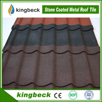 lightweight colorful antique stone coated zinc metal roofing tile/corrugated roofing sheet
