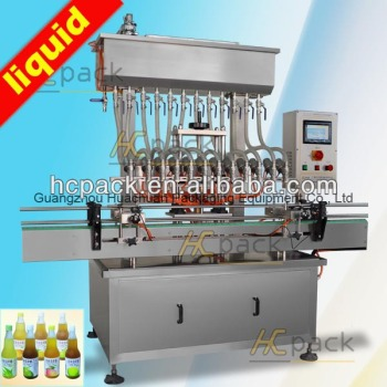 Twelve-heads Atmospheric Pressure soft drink filling machine