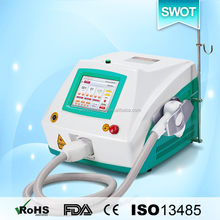 808nm diode laser personal laser hair removal 12*12 spot size