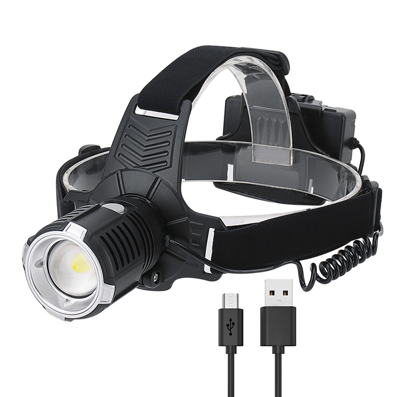 OEM high power rechargeable white light super bright led headlamp