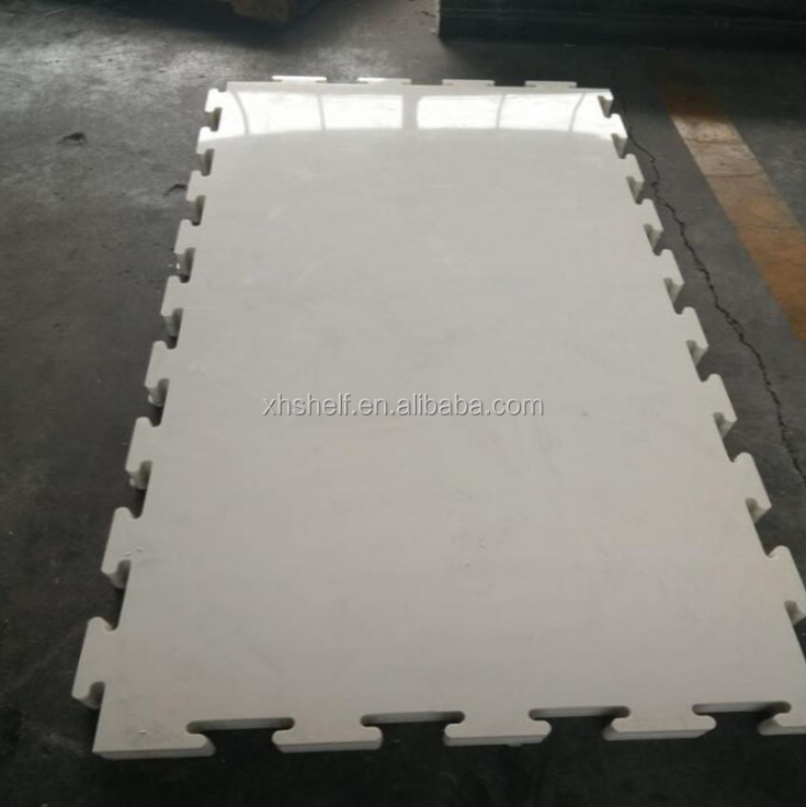 anti-abrasition white 15mm plastic sheet Artificial hdpe synthetic ice rink for roller skating ground and barrier