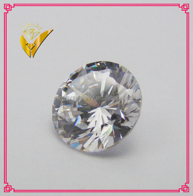 hot sale round 0.1ct white moissanite
