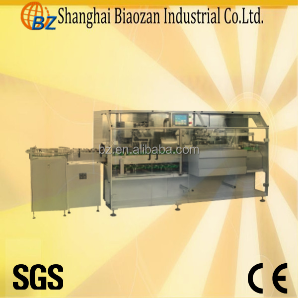 Automatic Carton Box Packing Machinery For Tube/Toothpaste/Ointment
