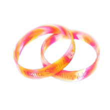 Wholesale promotion gift country flag wristbands/bracelet/bangles