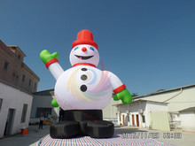 Top selling gaint inflatable snow man inflatable Christmas snowman