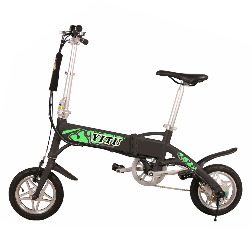 36v 8.8ah lithium battery 2-wheel 250w mini <strong>folding</strong> electric bike 16 inch