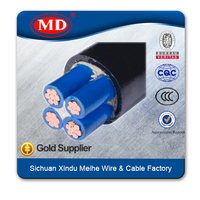 PVC insulated and sheathed power cable for laying indoor