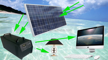 100W high conversion rate solar power supplier for home and outside