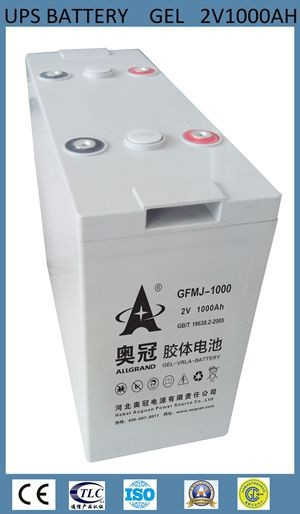 Free Maintenance Type and solar, wind, ups Usage agm deep cycle battery 2v 1000ah