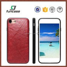 Wholesale genuine leather smart phone case for iphone 7