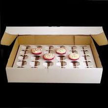 Cardboard Counter Top Display Holder Box for Cupcake Carrier