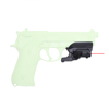 spina optics hunting 1911 compact Pistol Airsoft aimer red gun laser sight scope with Lateral Grooves