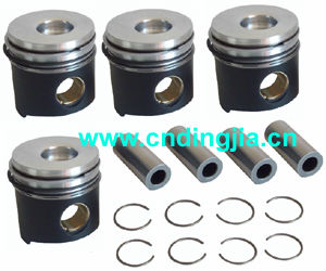 Piston With Ring & Pin Set / + 0.6mm / 97354020 FOR IVECO 49 / 30 / 40 / 45 series , SOFT packing
