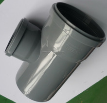 PVC tee drainage pipe fitting mould precision plastic pipe injection mold