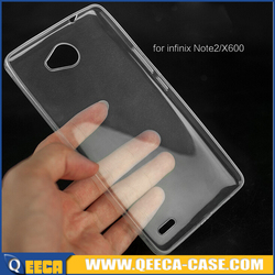 Wholesale ultra thin 0.5mm soft TPU back cover case for infinix note 2 x600