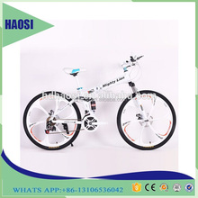 Hot Selling for 2017 new design double disc-brake folding mountain bicycle MTB bike in China,mountain bike drectly from Factory