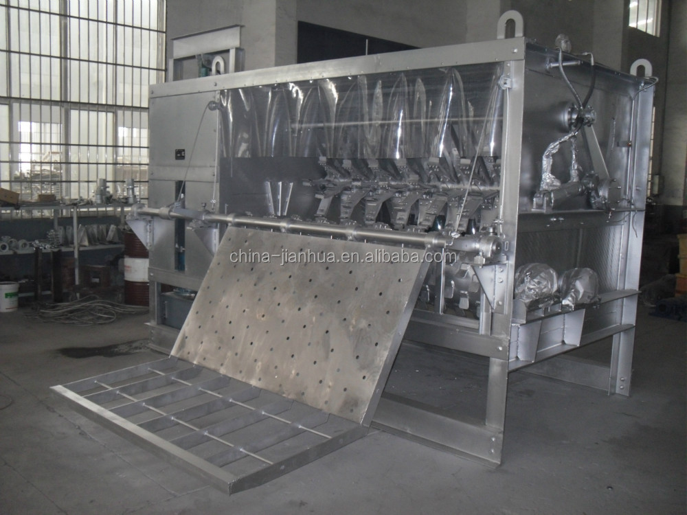 debristing machine for pig slaughtering house