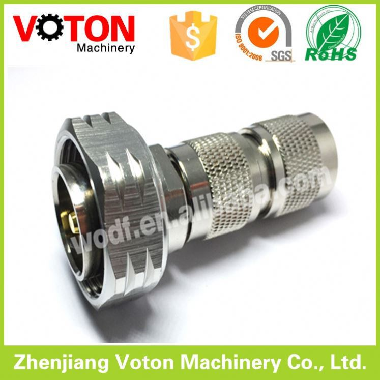 RF coaxial coax adapter male to 7/16 DIN male connector