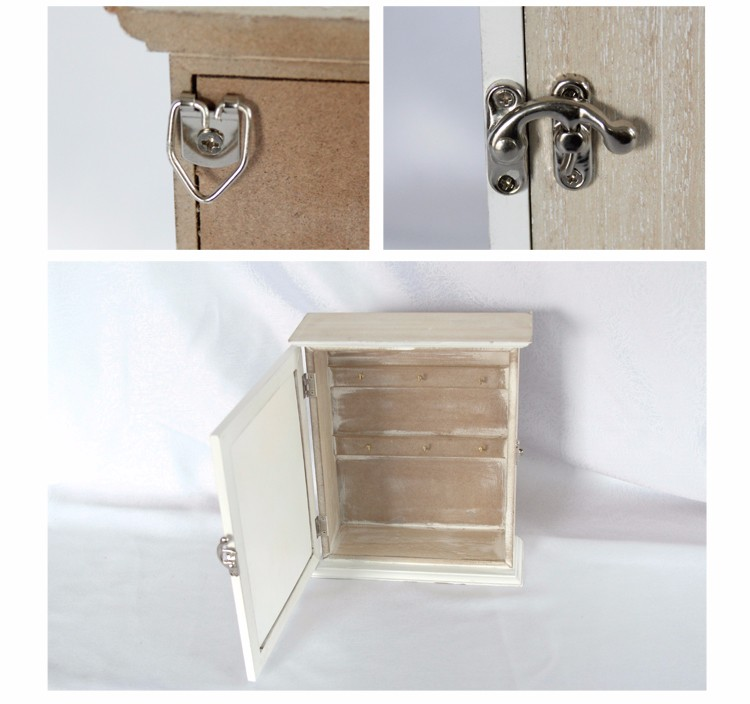 High Quality Decoration Wooden Wall Hanging Key Box for home